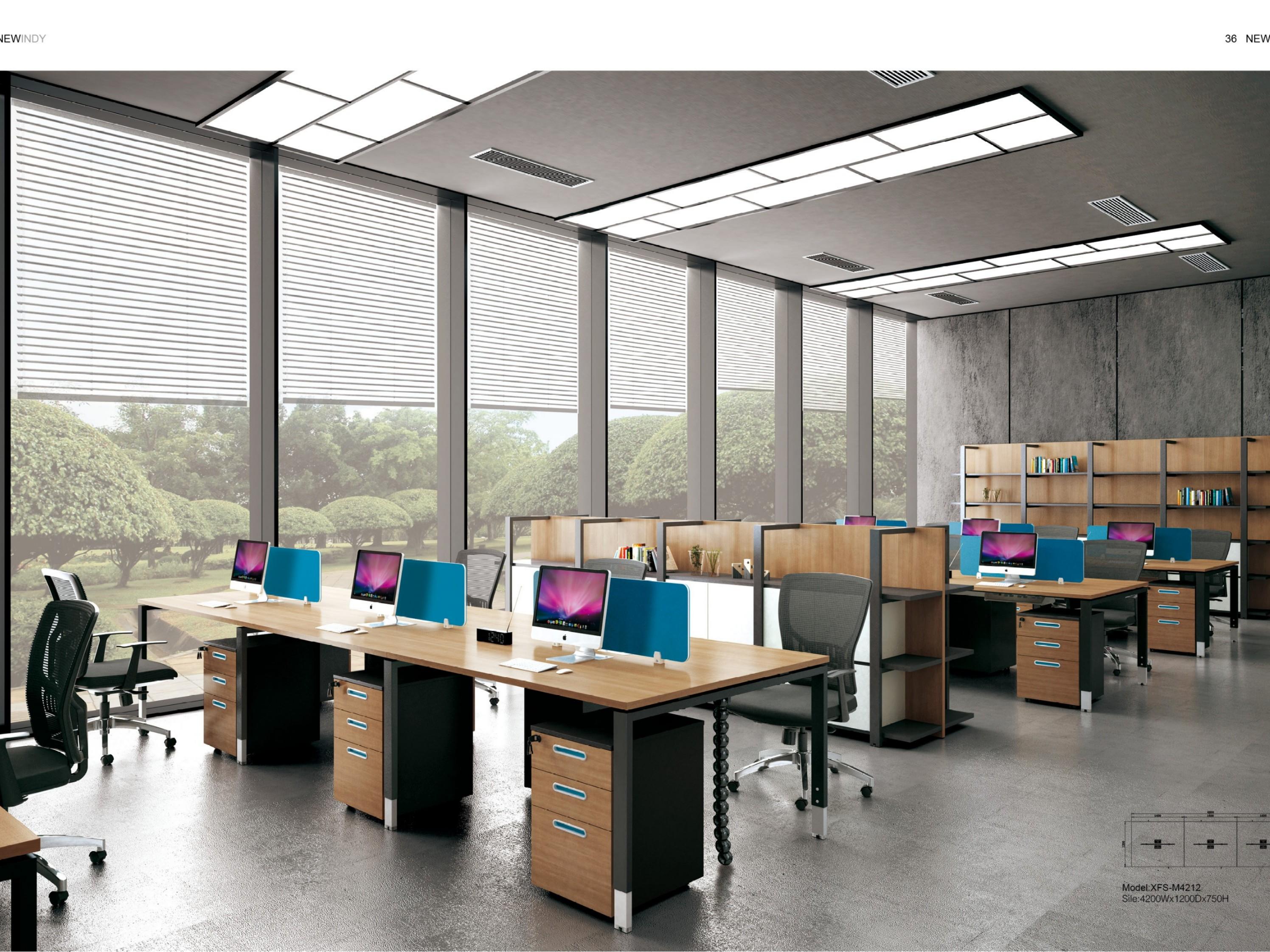 办公工作位-职员桌厂家
