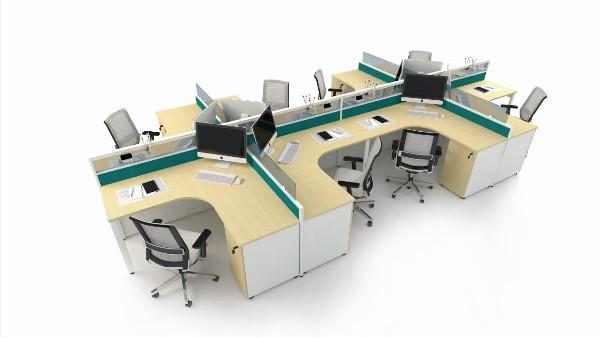 公司-屏风办公桌定制