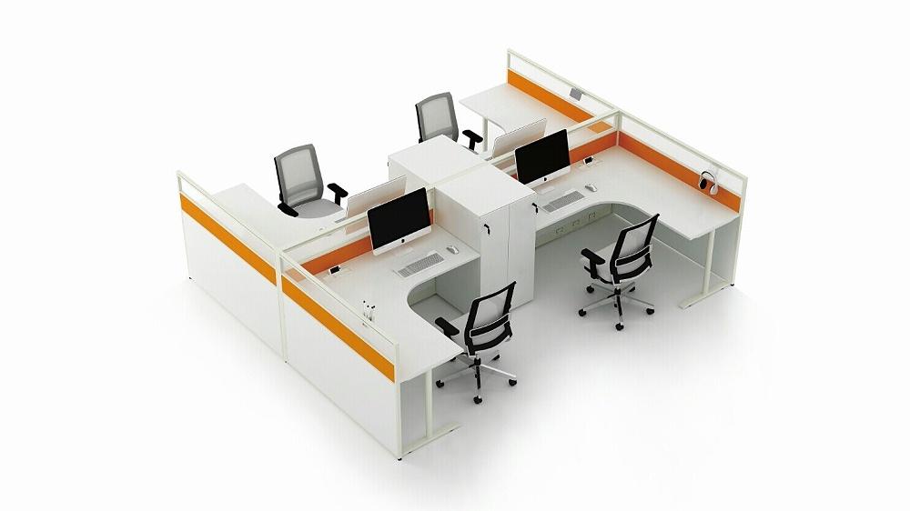 办公室-屏风办公桌-定制