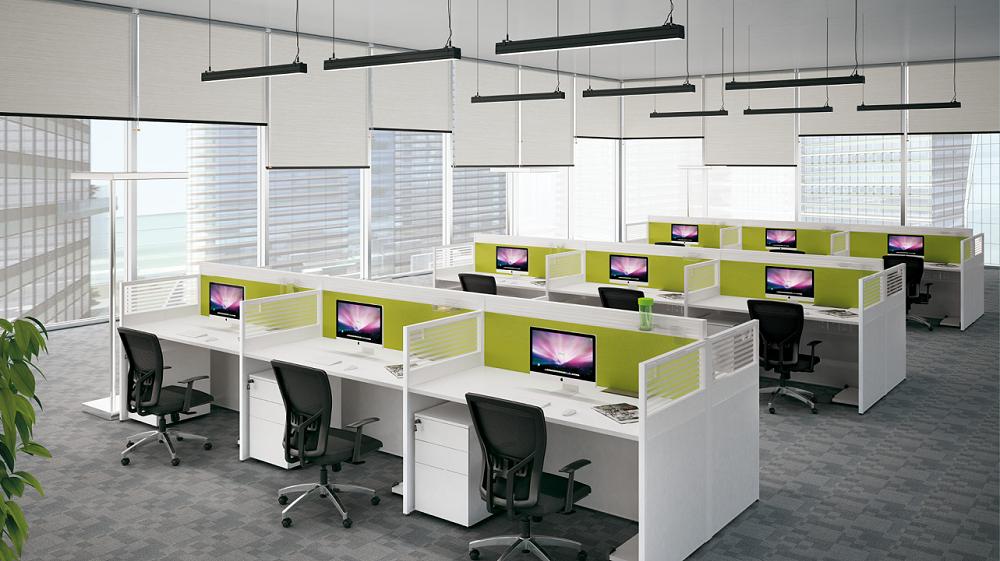 办公区-屏风办公桌厂家