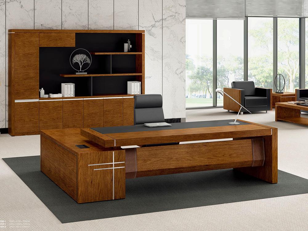 老板办公桌-实木办公桌
