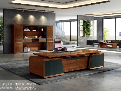 老板办公桌-大班台实木