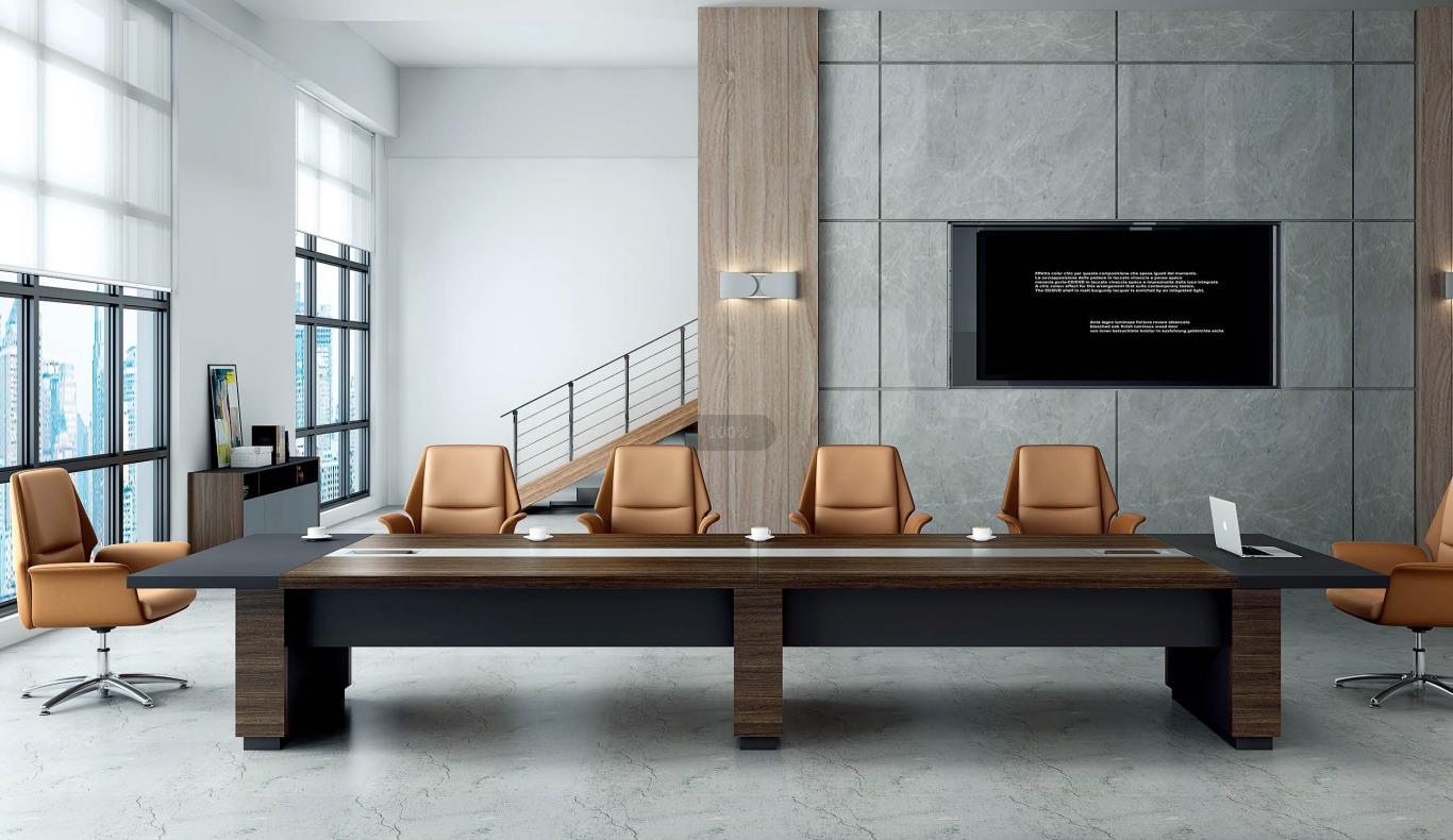会议室-现代会议桌定制