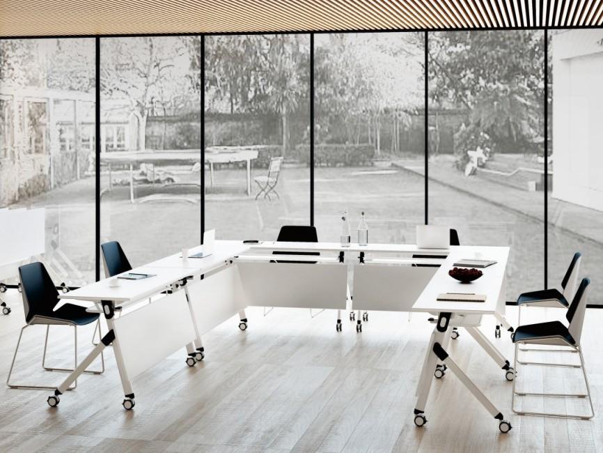 会议室-现代培训桌厂家