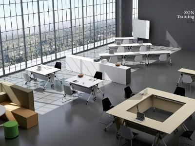 会议室-现代培训桌厂