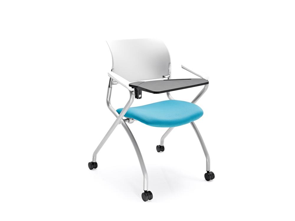 滑轮培训椅-会议培训椅