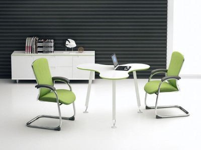 公司接待区-洽谈桌椅厂家