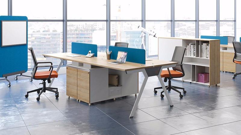簡愛辦公桌 簡約員工辦公桌