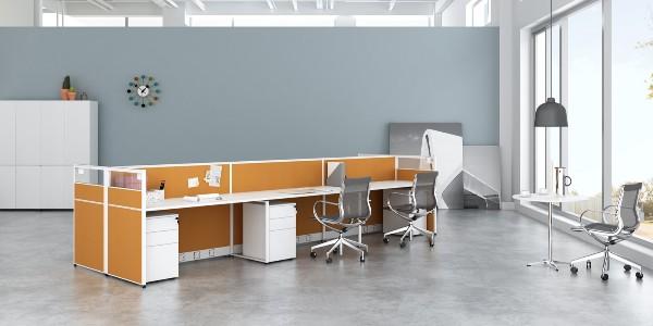 长沙办公家具厂告诉你屏风卡位的优势有哪些
