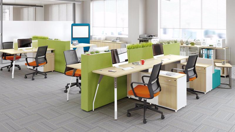 朗格辦公桌 員工辦公桌