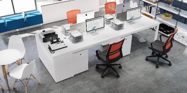 长沙办公家具告诉你板式办公家具的区分