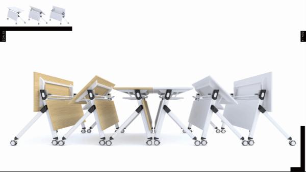 时尚培训桌-可移动-2