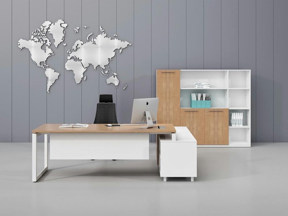 总监办公桌-办公桌款式定制