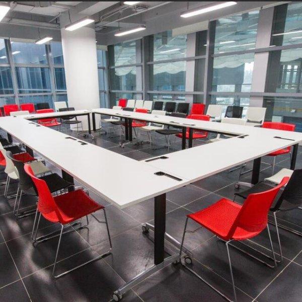 湖南商学院:打造高校简约实用的办公空间