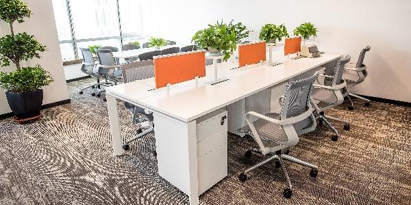 长沙办公家具,每一层都有自己的专属色