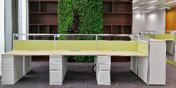长沙办公家具搭配绿植清新你的办公环境